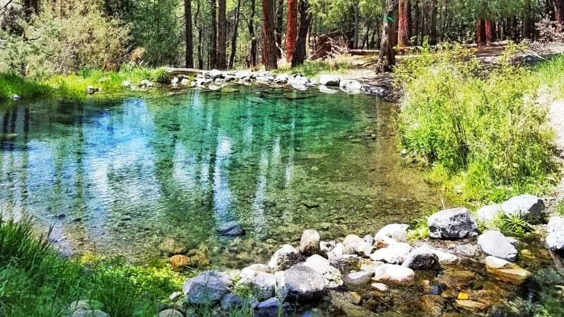 McCauley Hot Springs in Jemez Springs